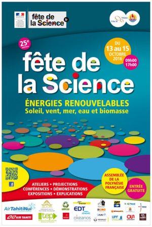 Fête de la Science 2016 Affiche