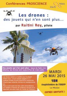 Conference sur les drones