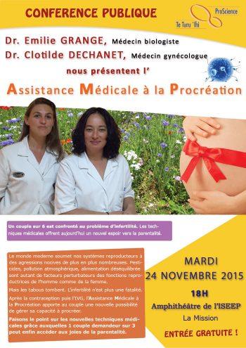 Conference assistance medicale à la procreation